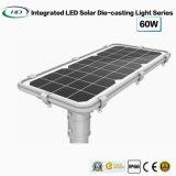 Hochwertiges straßenlaterneder Mikrowellen-60W Solarder induktions-LED