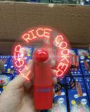 주문을 받아서 만들어진 로고 (3509)를 가진 LED 소형 팬