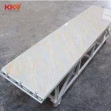Superficie solida bianca del ghiacciaio di Deocration 12mm della parete