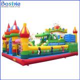 高品質の膨脹可能な運動場の子供のための膨脹可能な遊園地