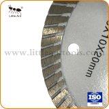 лезвие алмазной пилы 4 '' Turbo для мрамора гранита плитки керамического