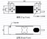 Haz una sola célula de carga de aluminio B746)