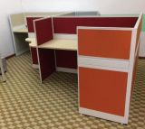 Kundenspezifischer Büro-Arbeitsplatz mit Filedrawer-Computer-Zellen