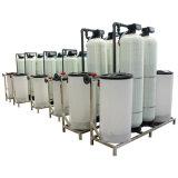 24 horas contínuas que funcionam o emoliente de água Ion Exchange automático da resina