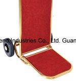 Покрынная титаном тележка багажа нержавеющей стали для лоббиа гостиницы (SITTY 91.2003)