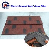 Leichter Baumaterial-Stein-überzogene MetallNosen Dach-Fliese