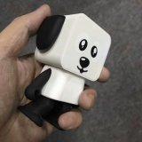 熱く小さい正方形の多機能の新しいステレオの情報処理機能をもったダンスの子犬のロボットスピーカー