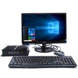 Mini tarjeta de red industrial de los ordenadores I5 4200u Intel de Fanless 2 gigabites con 6 USB RS232 8 (RAM 8G y SSD 256G)