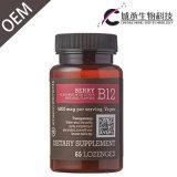 GMP Verklaarde Tablet van de Vitamine B12, de Pillen van de Vitamine B12