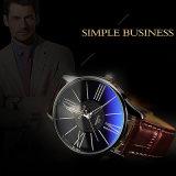 H315 de los hombres de negocios Venta caliente Yazole reloj de pulsera reloj de cuarzo impermeable reloj para hombres