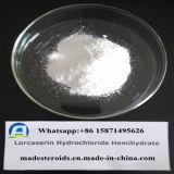 Matéria- prima da medicina do HCl do CAS 856681-05-5 Lorcaserin, esteróides farmacêuticos da classe