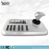 5 tastiera di vendita calda della macchina fotografica del IP PTZ dell'affissione a cristalli liquidi di pollice con lo schermo di visualizzazione della barra di comando 3D