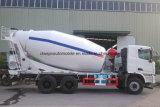 Camion di consegna del cemento di Cbm del camion 8 del rullo del timpano della betoniera di C&C 6X4