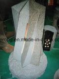Lanterna nera assoluta di Graden della pietra del granito nel disegno personalizzato
