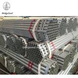 La promoción de ventas- Ronda de tubo de acero galvanizado en caliente