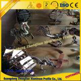 Productos de aluminio anodizados modificados para requisitos particulares del oro con el CNC del aluminio