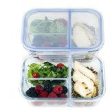 3 Блок делителя стекло питание Prep контейнер с замком крышки багажника