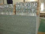 Mur rideau en aluminium avec panneau d'Honeycomb Panneaux de base
