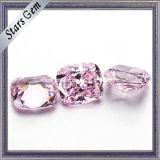 De Lichtrose Synthetische Diamant van uitstekende kwaliteit van CZ voor Zilveren Juwelen