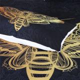 Vergoldung-Bettwäsche-gesetztes Polyester-Bettwäsche-Blatt