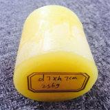 Vela tradicional rústica amarilla del pilar para el mercado de Europa