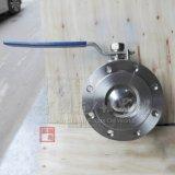 Электрический привод из нержавеющей стали с приводом от электродвигателя фланцевую пластину типа шаровой клапан