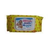 Tessuti bagnati dei Wipes del bambino di pulizia di fragranza del bambino bagnato di Unscented