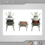 Le charbon de bois en acier inoxydable de pliage de lumière Grill (utilisation en extérieur)