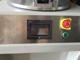 Máquina de impressão da tela rotativa de mesa com braço do robô