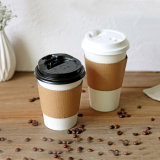 8 унции 12oz одноразовые извлеките горячего кофе чашки бумаги
