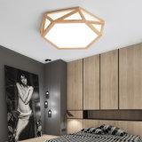 Het Chinese Moderne Houten Licht van het Plafond van de Stijl van de Decoratie