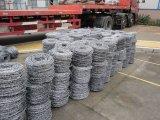 Recubierto de PVC y alambre de púas de plástico
