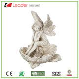 Popular efecto piedra Tortuga Polyresin Figurita para el hogar y jardín decoración, hacer su propia escultura Animal
