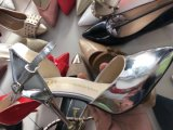 Sangle de cheville de la femme chic les pompes d'Orsay robe Stilettos sandales