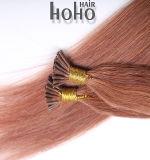 Maagdelijke Bruine Rechte 16 Duim I van het Menselijke Haar het Haar van de Stok van het Uiteinde