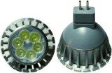 Scheinwerfer des 50W Halogenbirne-gleichwertiger (6W LED) warmer Weiß-GU10 MR16 LED