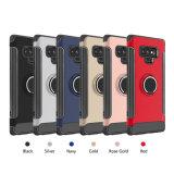 Ring béquille l'affaire, Soft Matte TPU Support Magnétique Drop couvercle de protection résistant aux rayures pour Samsung Galaxy Note 9