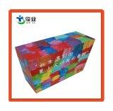 Caja de regalo papel personalizado para la botella de cosméticos
