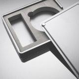 주문 전자 제품 수송용 포장 상자 검정은 플라스틱 저장 상자를 분해한다