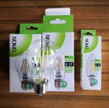 Lâmpada lâmpada de incandescência LED 4W E14 E27 C35 C37 Luz de Velas LED para Lustre