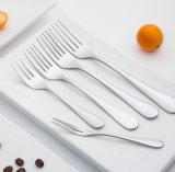 Рекламные металлические вилки дешевые ужин из нержавеющей стали титан ужин вилочного захвата