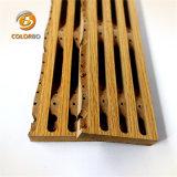 Haltbarkeits-und elegantes Aussehen-natürliches hölzernes hölzernes Bauholz-Akustik-Panel