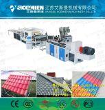 Le plastique bambou composite Structre Ligne de production de tuiles