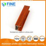 Штампованный алюминий цена 6063 деревянных передачи в Китае