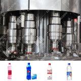 炭酸塩化される自動プラスチックびんは充填機械類を飲む