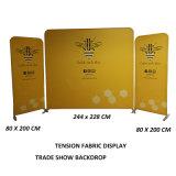 Evento de aluminio Banner stand Stand tensión telón de fondo de Tela mostrar