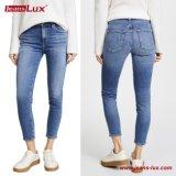 卸し売り女性Cropped Skinny Jeans Famale伸張のデニムのジーンズのズボンのズボンJl Sk091