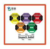 Etiqueta auto-adesiva com papel autocolante para o transporte de embalagens
