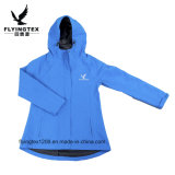 100% poliéster impermeable anorak campera para mujer