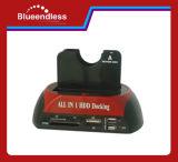 2.0 HDD Station d'accueil avec cinq ports USB (BS-HD05)